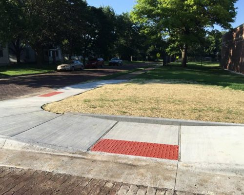 Sidewalk for Safe Routes to School Project (After)