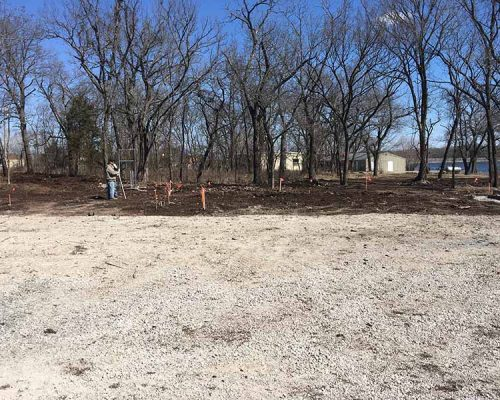Before - Site Location for Restrooms