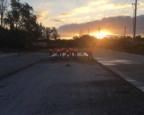 Concrete at Sunrise