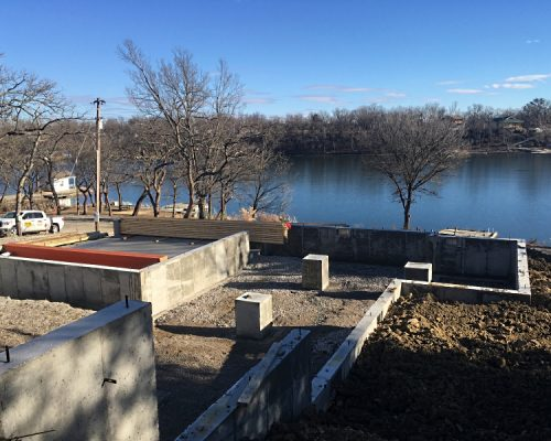 Foundation at Fort Scott Lake in Fort Scott, KS